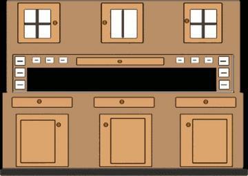 Znázornění skříně