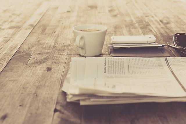 káva u novin