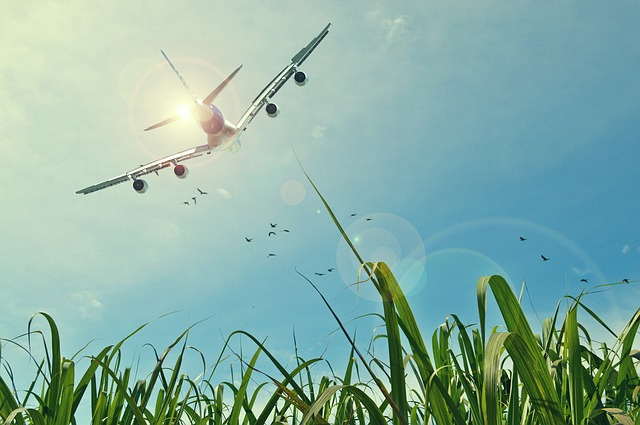 vzlet letadla