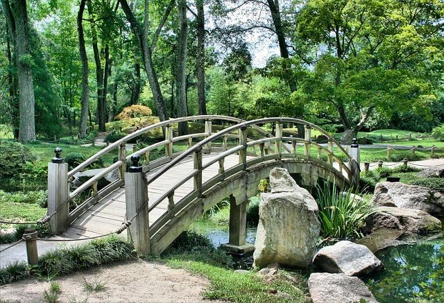 japonská okrasná zahrada