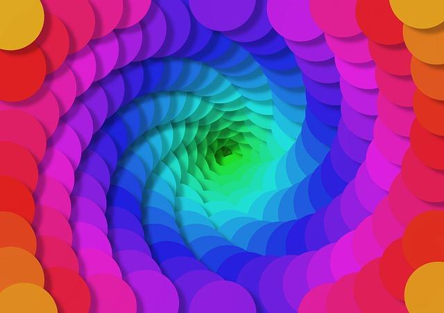 paleta barev – kolečka