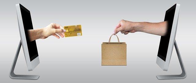 nákup na e-shopu