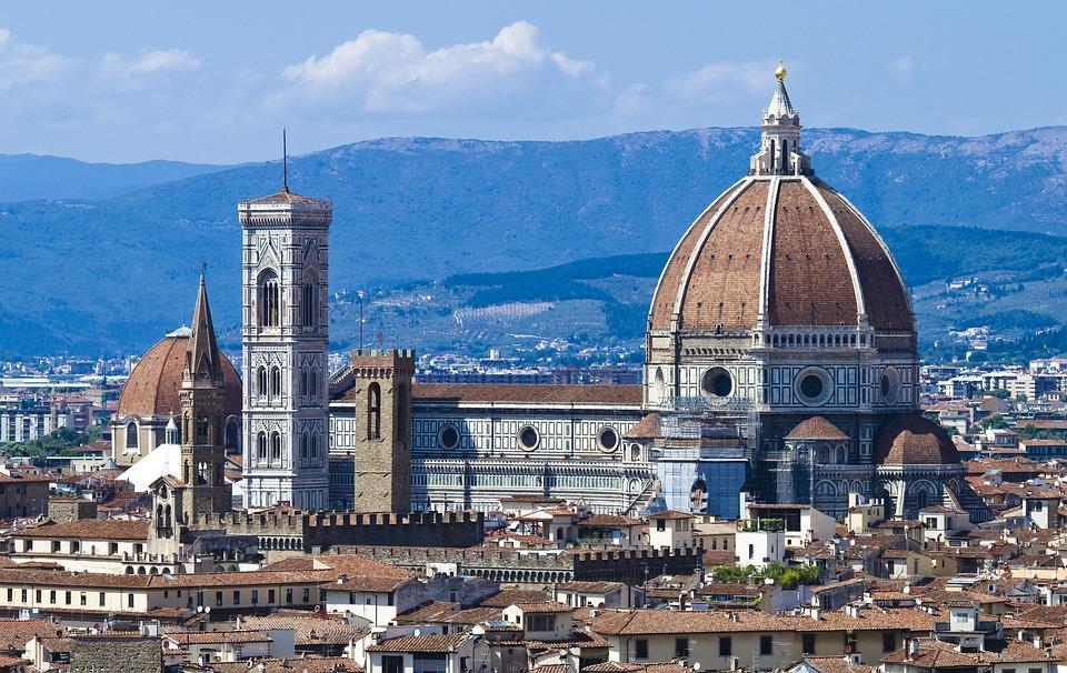 Florencie – pohled na katedrálu Santa Maria Del Fiore