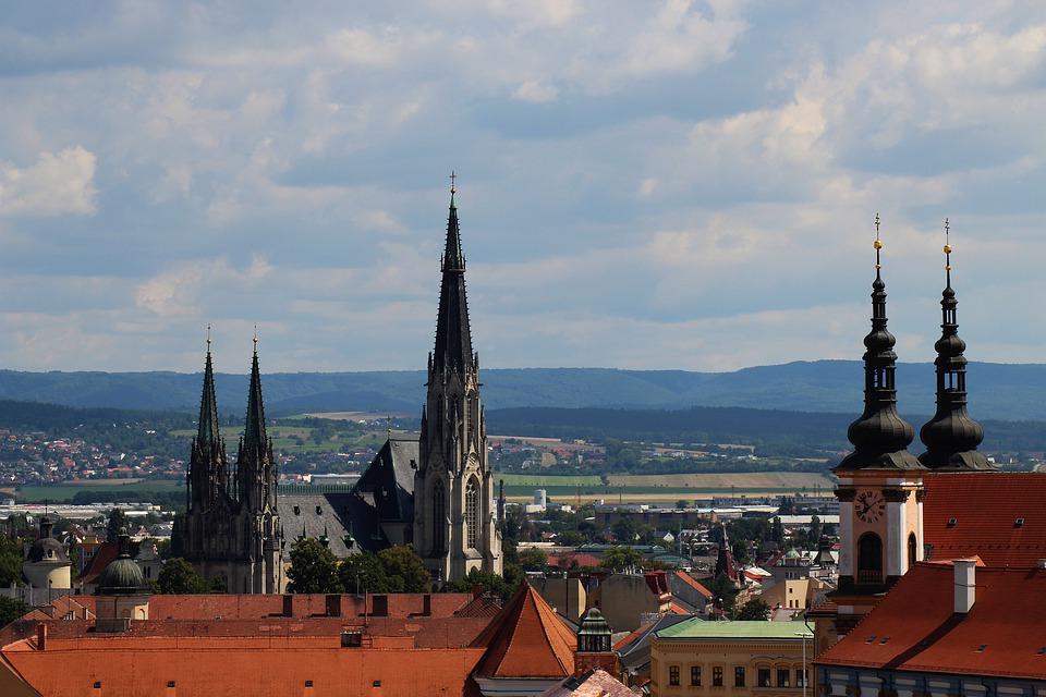 pohled na Olomoucko